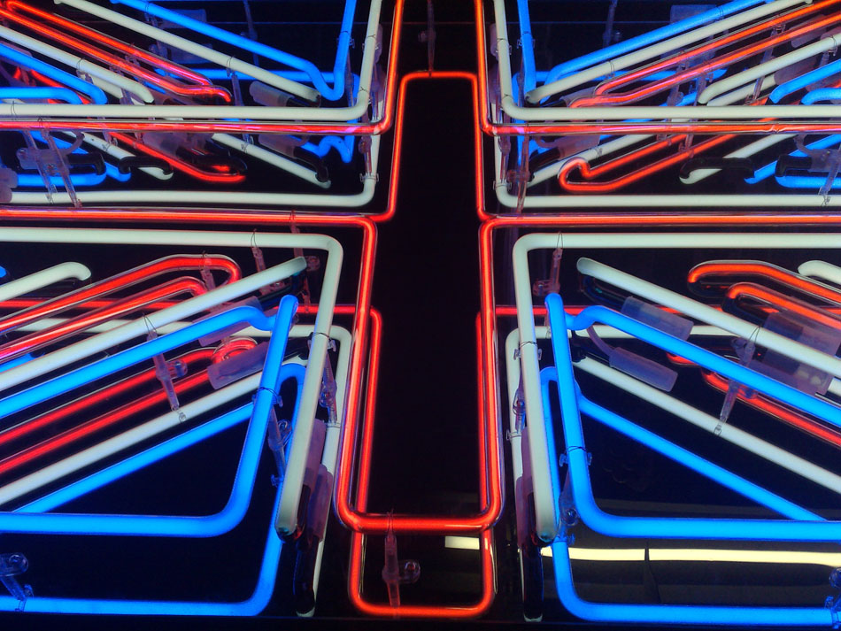 British Union Jack Neon Sign Neon1
